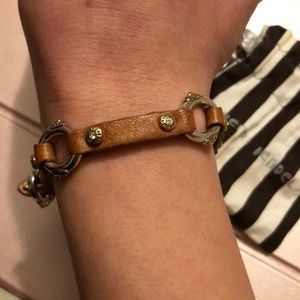Henri Bendel leather bracelet.